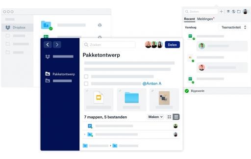 Dropbox-app desktop vernieuwd.