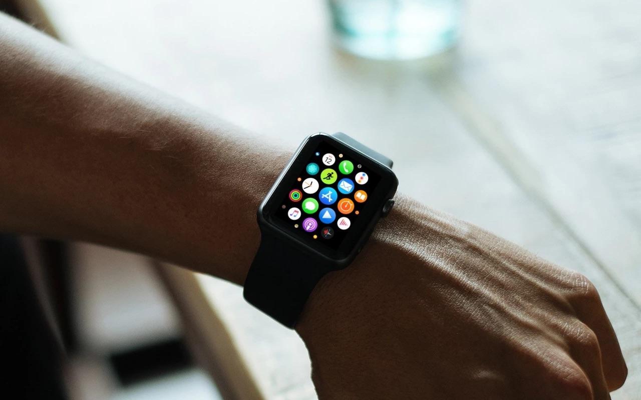 App Store-icoontje op Apple Watch.