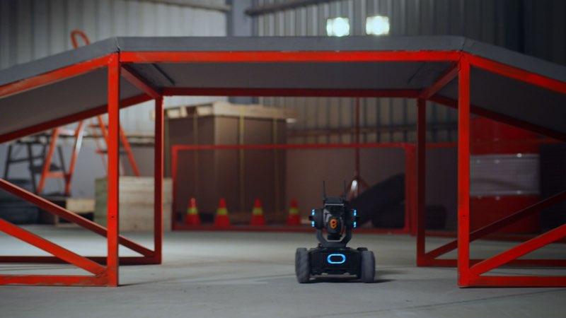 RoboMaster S1 tijdens het spelen