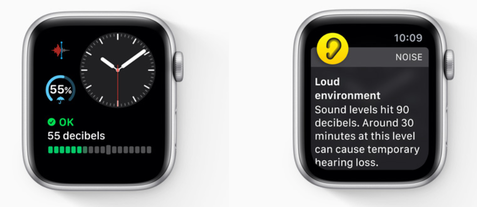 Noise-app op Apple Watch in watchOS 6.