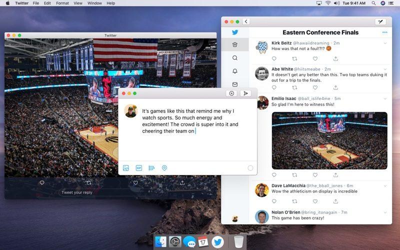 Twitter for Mac met Catalyst
