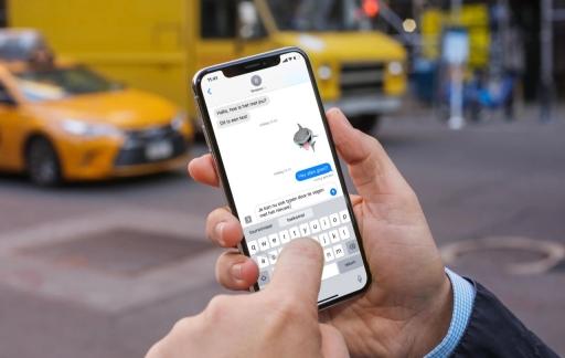 QuickPath op iPhone gebruiken.