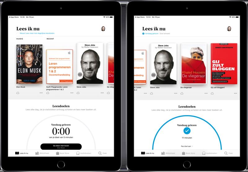 Leesdoelen Boeken-app