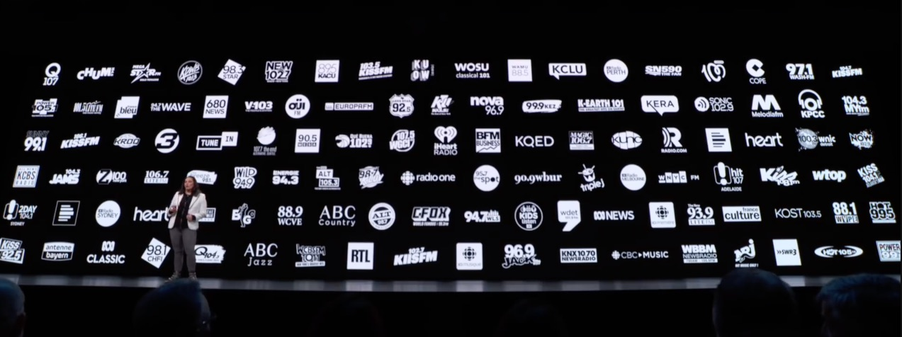 Siri iOS 13 radiostations.