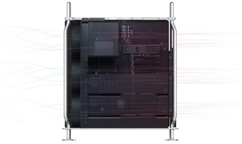 Mac Pro 2019 luchtcirculatie