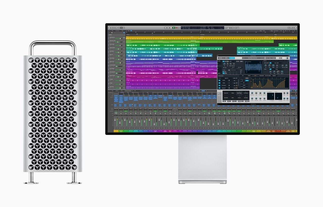 Apple Mac Pro met Logic Pro