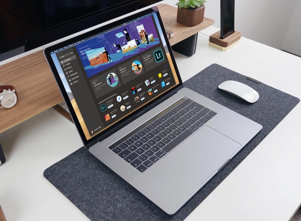Adobe Lightroom in Mac App Store.