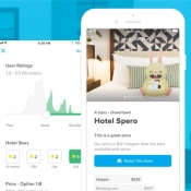 Hopper hotelprijzen