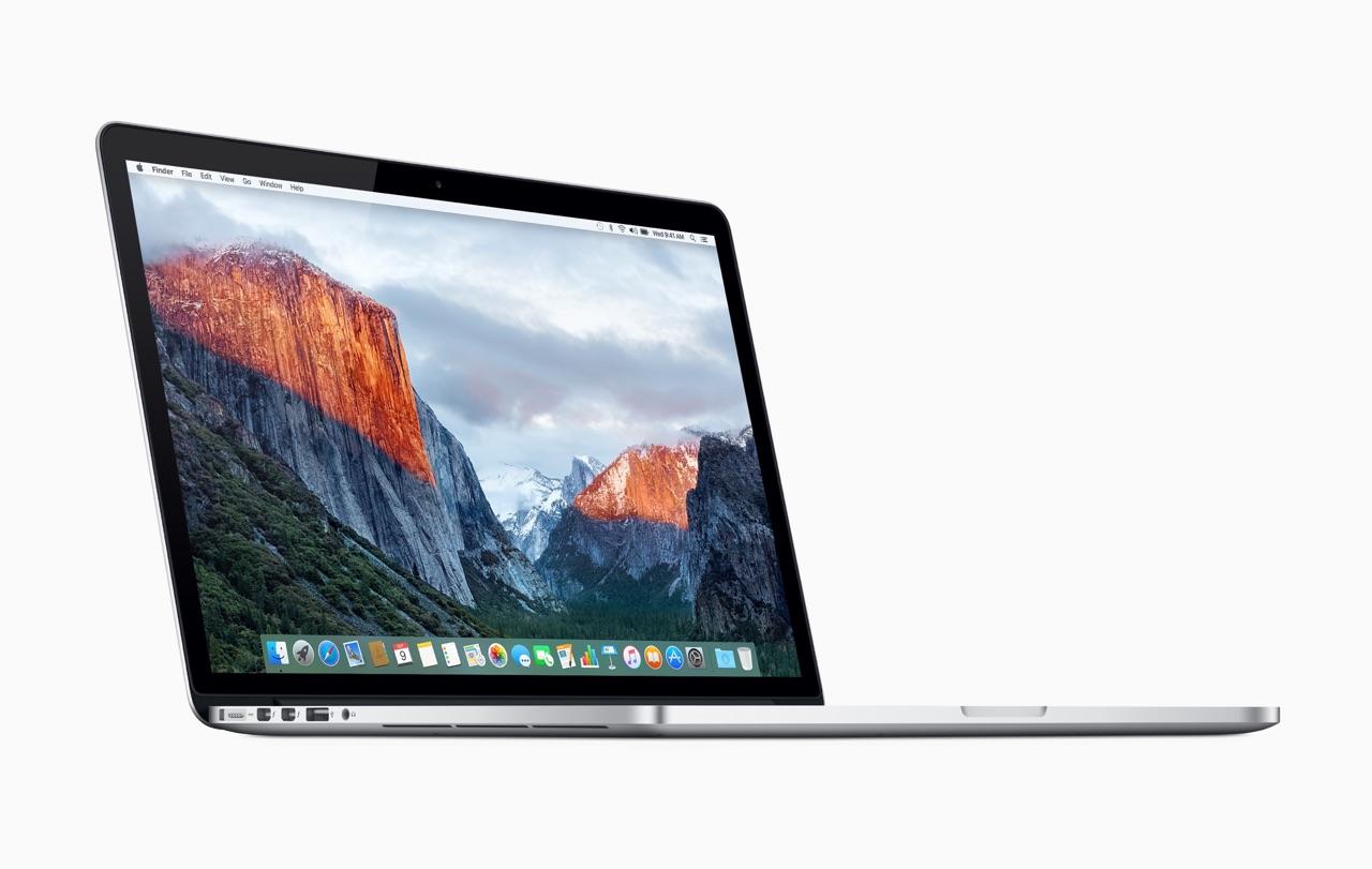 MacBook Pro 15-inch 2015.