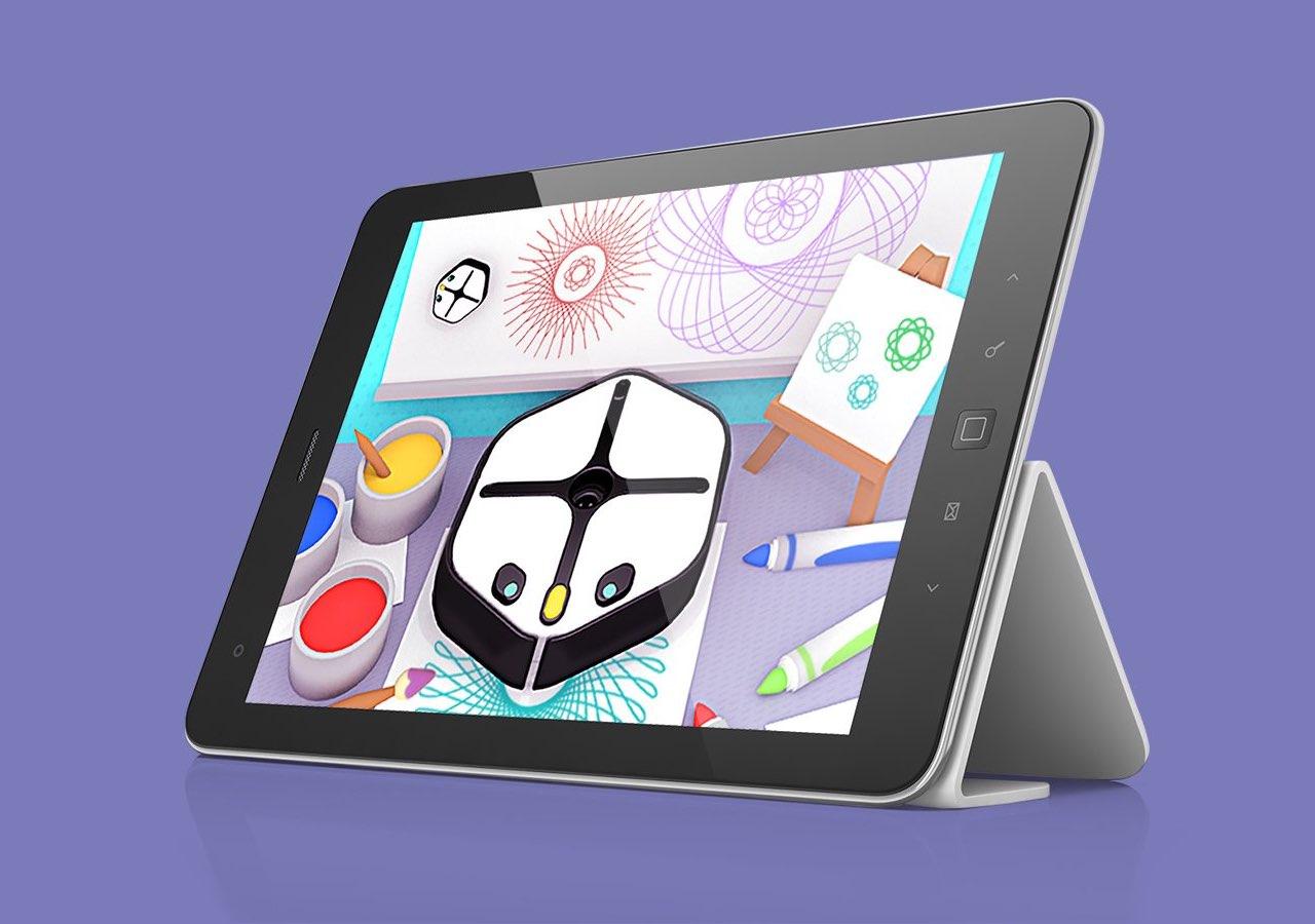 Root Robot-app op iPad