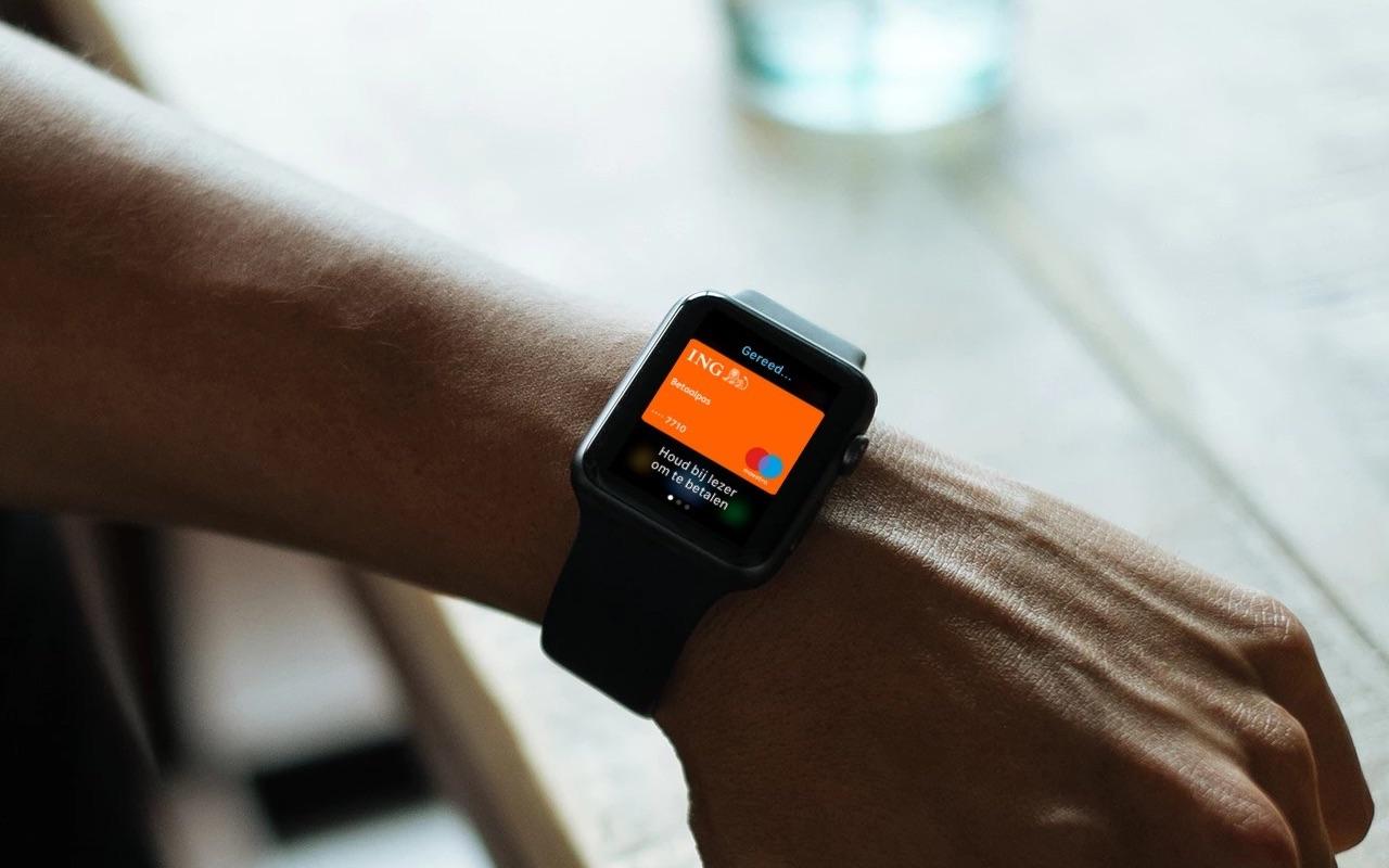 Apple Pay met Apple Watch bij ING.