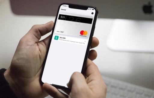 N26 Mastercard met Apple Pay.