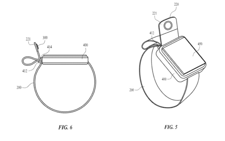 Apple Watch-bandje patent met camera.