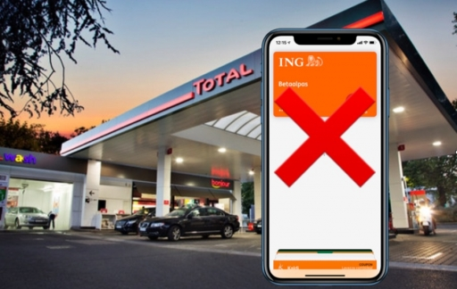 Total met Apple Pay.