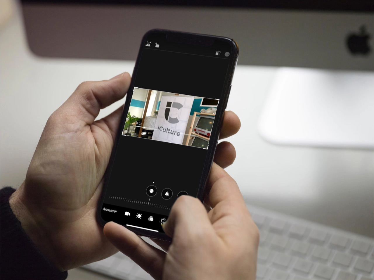 Video roteren iPhone.