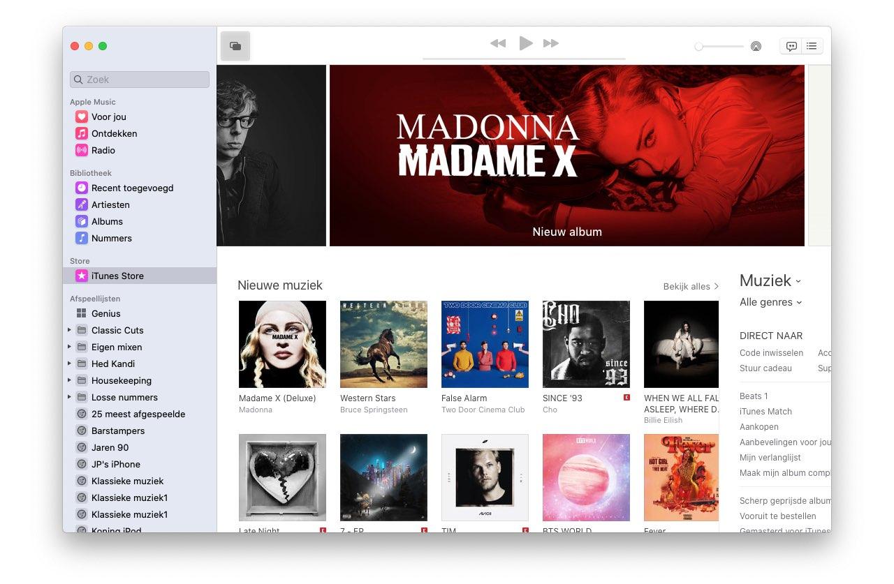 Catalina Muziek-app