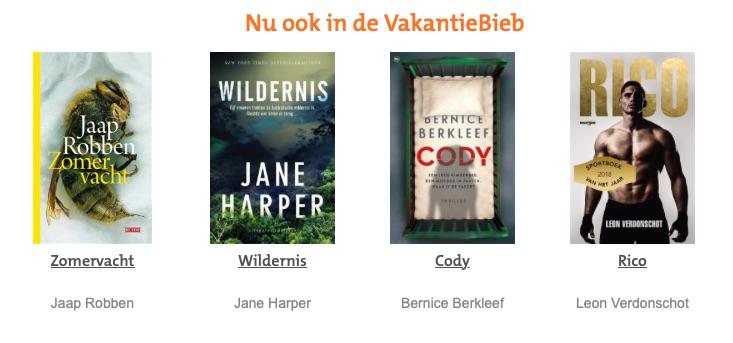Vakantiebieb 2019 boeken.