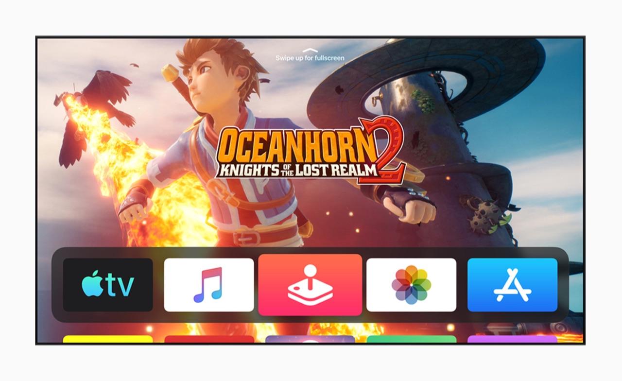 Apple Arcade in tvOS 13.