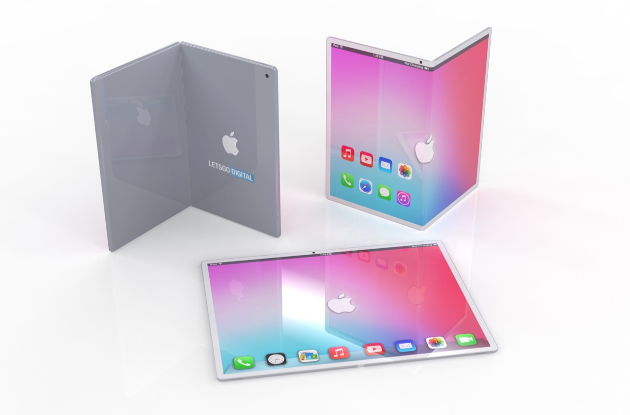 Opvouwbare iPad concept.