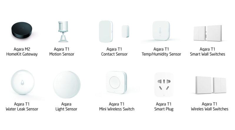 Aqara-sensors zomer 2019