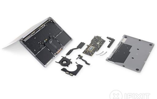 13-inch MacBook Pro 2019 teardown van iFixit.