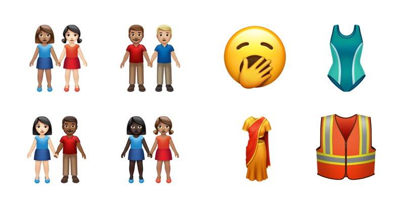 iOS 13 emoji relaties en kleding