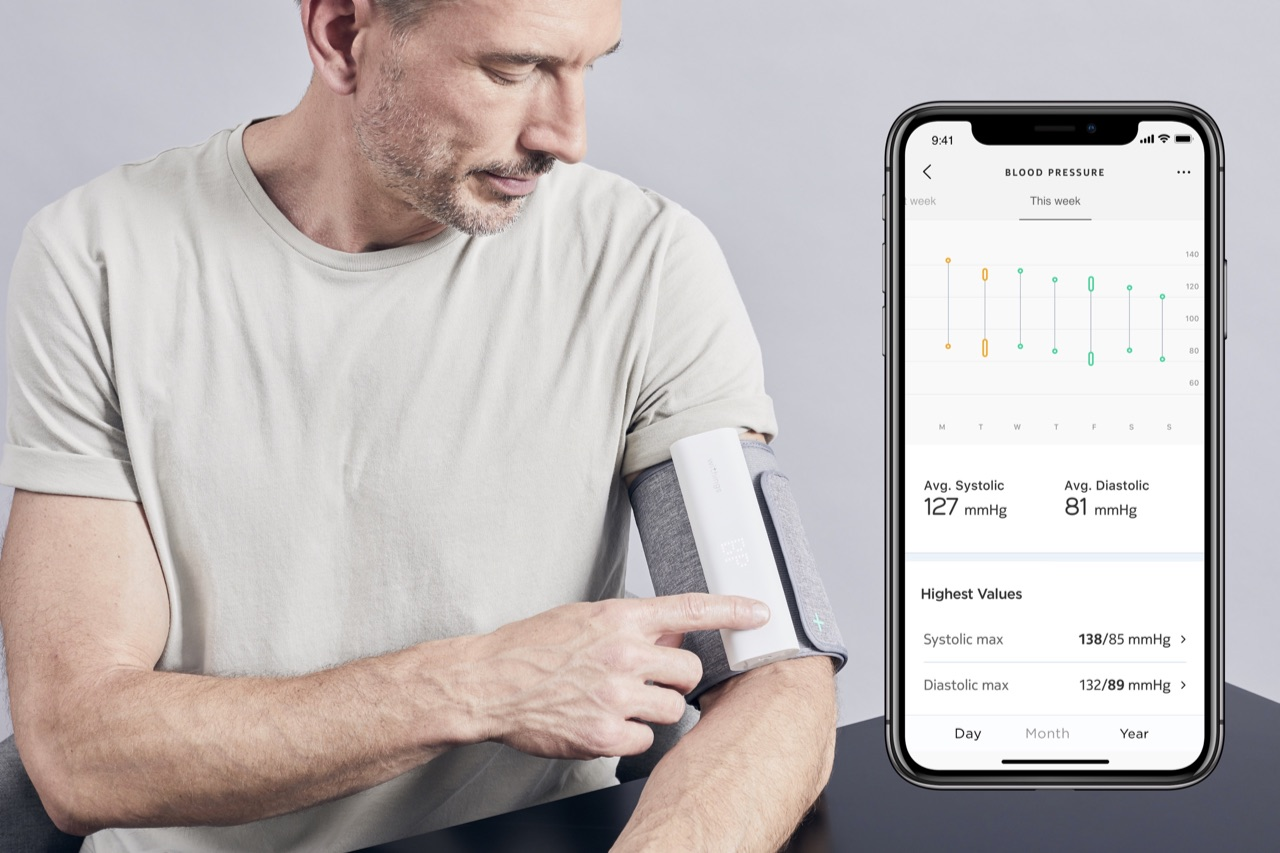 Withings BPM Connect bloeddrukmeter.