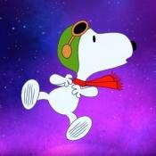 """Snoopy gaat de ruimte in voor Apple TV+ <div class=""""wmp-player""""></div>"""