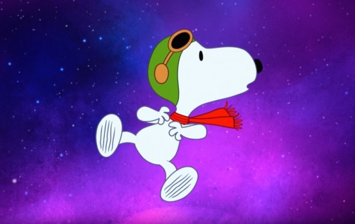 Snoopy in Space trailer.