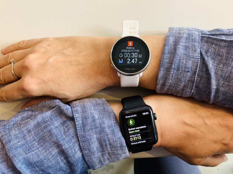 Polar Ignite en Apple Watch