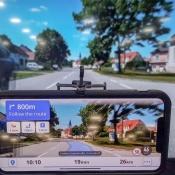 Sygic concept voor navigatie met augmented reality.