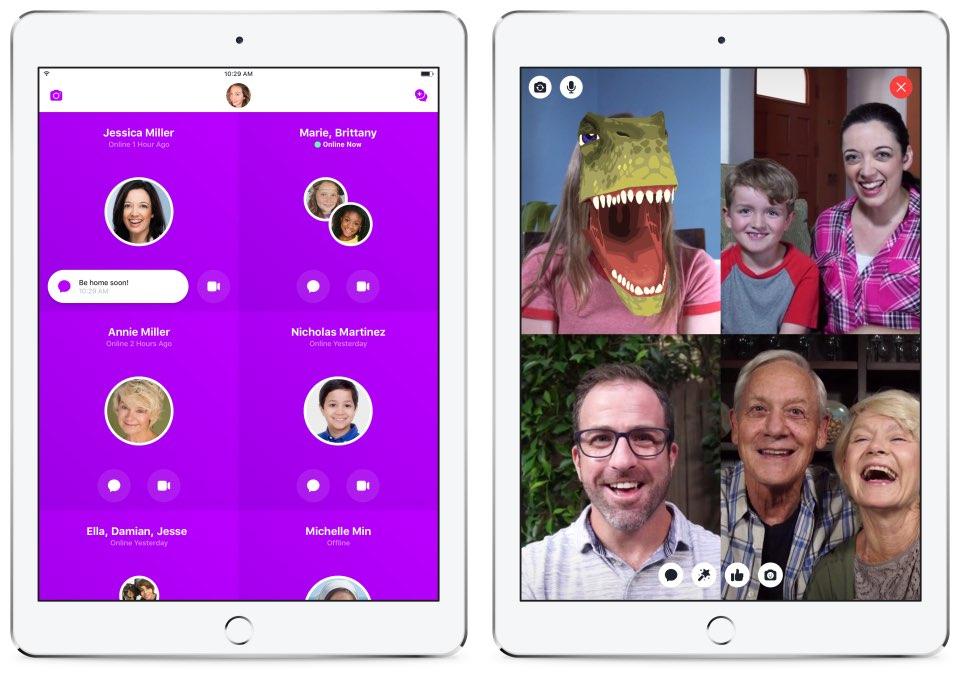 Facebook Messenger Kids-app