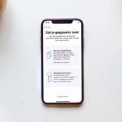 iPhone-gegevens overzetten.
