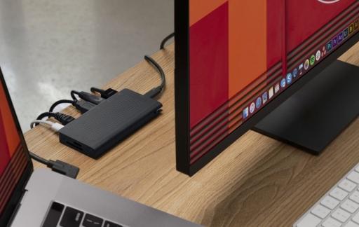 StayGo van Twelve South USB-C-hub.