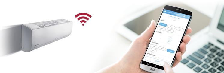 LG Standard Plus wifi-airco
