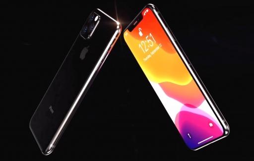 Realistisch iPhone 11 concept.