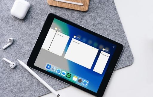 Op iPad meerdere vensters gebruiken.