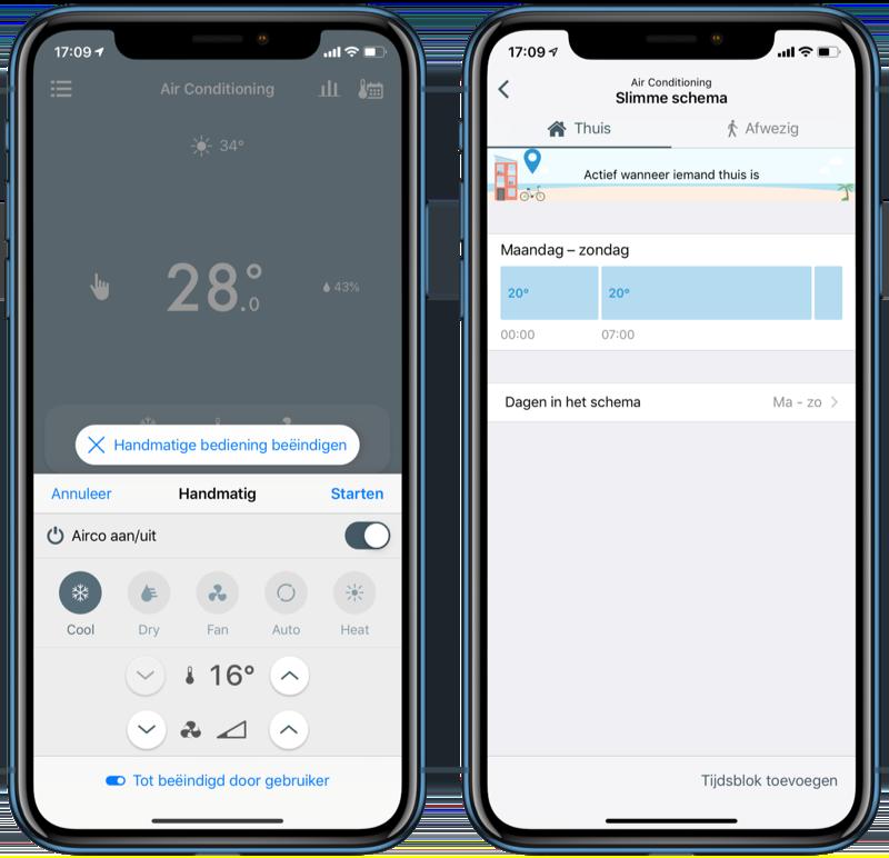 tado Slimme Aircobediening V3+ bedienen via tado-app.