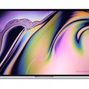 MacBook Pro 16-inch concept.