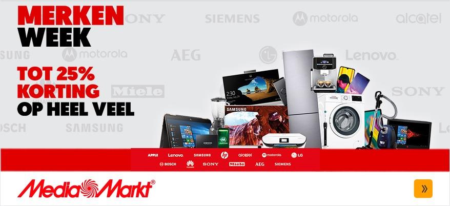 MediaMarkt Merkenweek augustus 2019.