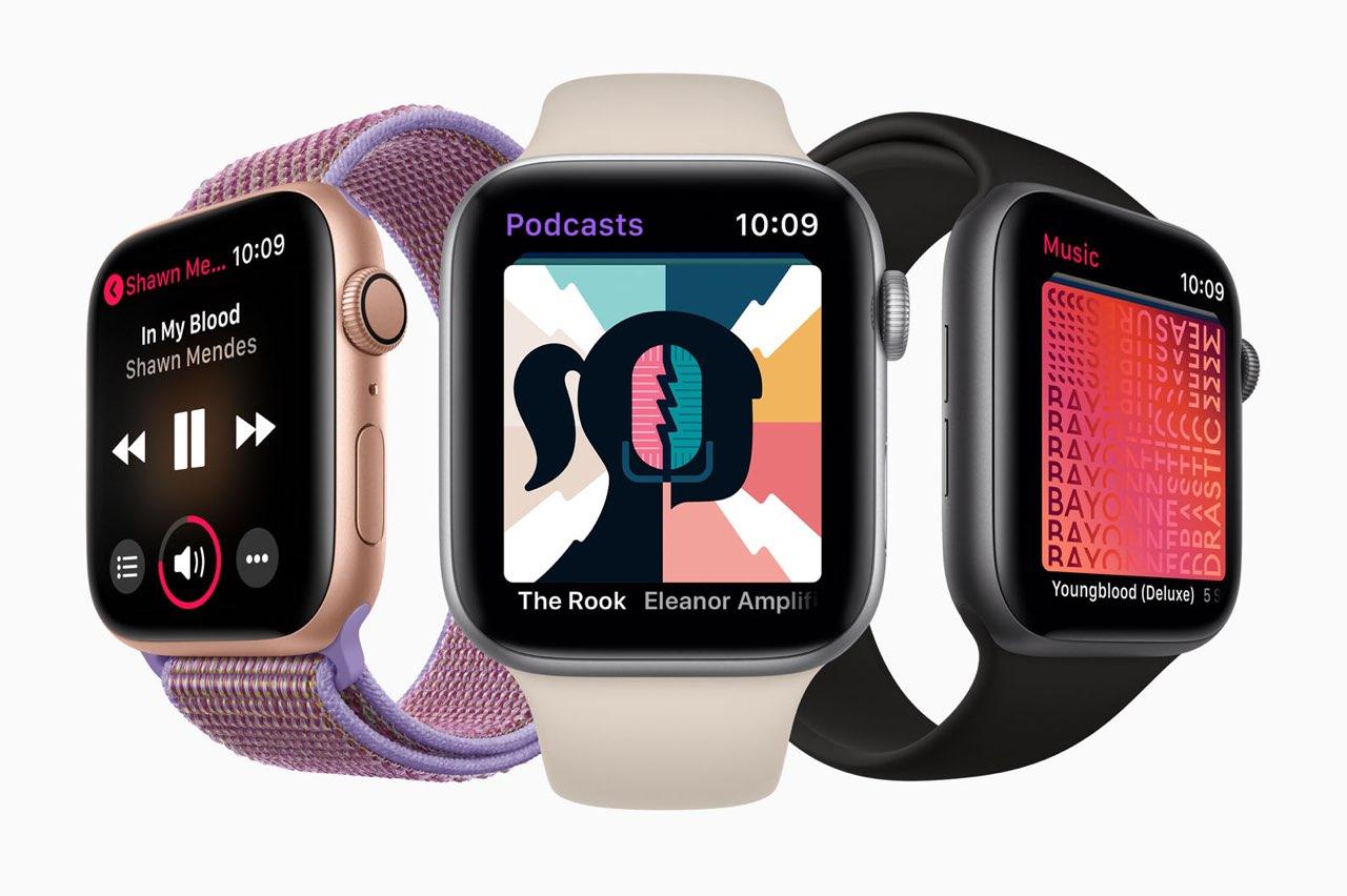 Apple Watch podcast-app