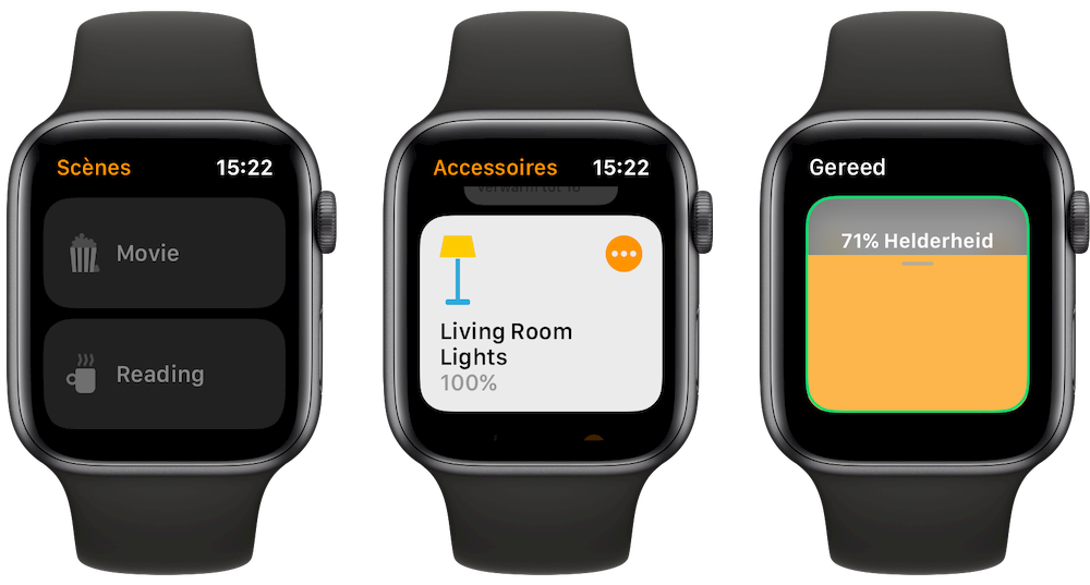 Woning-app op Apple Watch