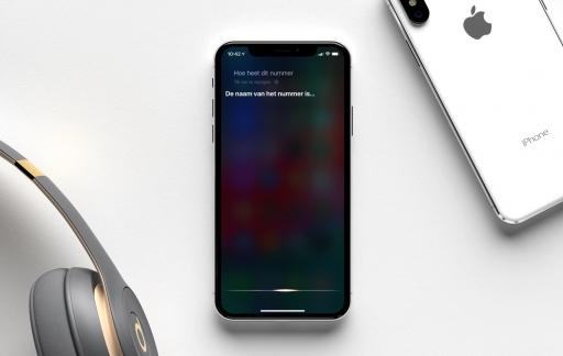 Siri muziek herkennen door te luisteren.