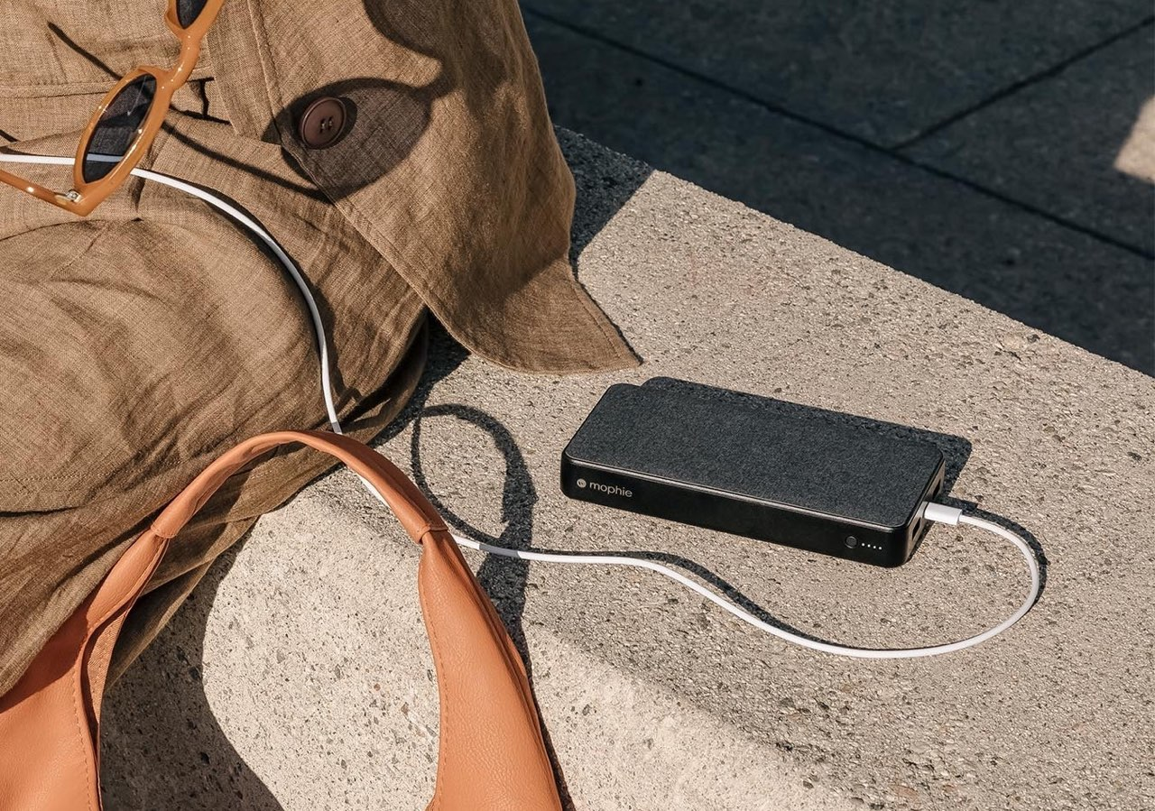 Mophie Powerstation grijs