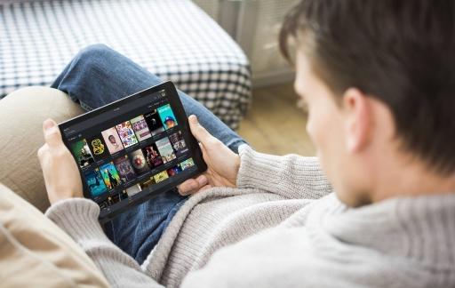 Videocollectie bekijken iPad