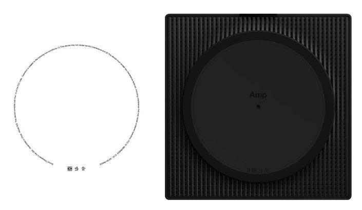 FCC-label opvolger Sonos Amp