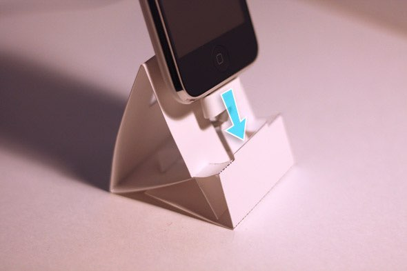 iPhone-dock karton