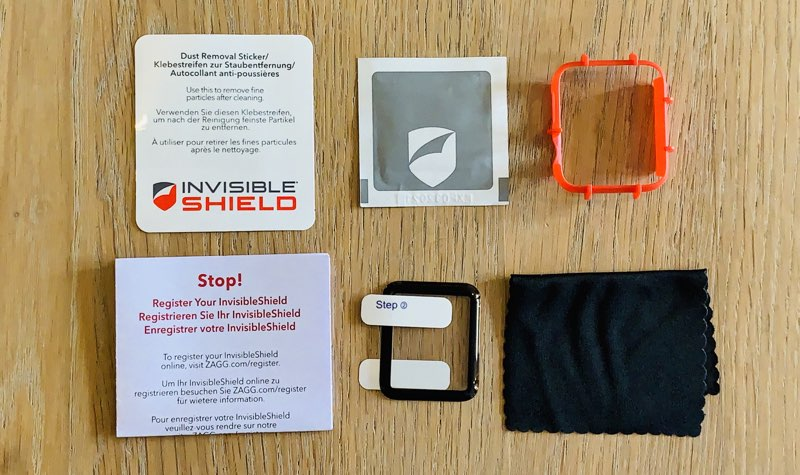 Zagg Invisibleshield screenprotector review