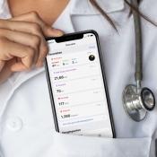 Dokter met Gezondheid-app in iOS 13.