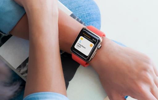Apple Watch met Woning-app voor HomeKit.